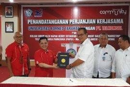Telkomsel Hadirkan Economic Corner di Universitas Borneo Tarakan