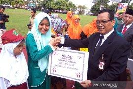 Pelajar di Banyumas deklarasikan Aksi Pelajar Indonesia Menabung
