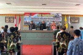 Lampung Gelar Seminar Sinkronisasi Kebijakan Pertahanan Negara