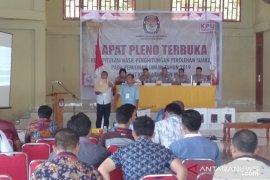 KPU Nias pleno rekapitulasi penghitungan suara  pemilu