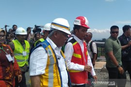 Presiden Jokowi meresmikan Bendungan Gondang di Karanganyar