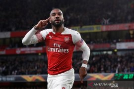 Griezmann hengkang, Atletico ingin bajak Lacazette dari Arsenal