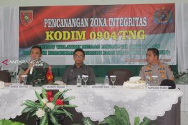 Kodim Paser Deklarasi Zona Integritas Anti KKN