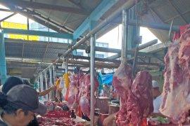 Harga daging naik jelang Ramadhan