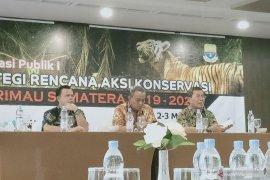 Indonesia mulai menyusun SRAK Harimau Sumatera 2019-2028