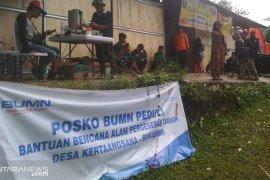 Korban pergeseran tanah di Sukabumi ikhlas kehilangan rumah