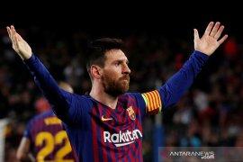 Mourinho: Messi menjadi faktor pembeda di laga Liverpool-Barcelona