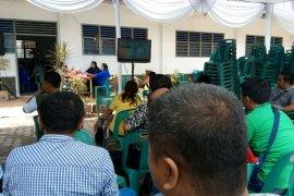 KPU Pematangsiantar sediakan dua layar dan pengeras suara di pleno terbuka