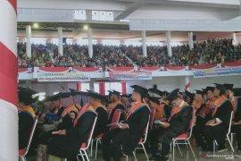 Universitas Jambi wisuda 1.027 lulusan diploma hingga doktor