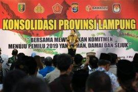 Kawal Pemilu Kondusif, Ridho Raih Penghargaan dari LEPRID dan Kapolda Lampung