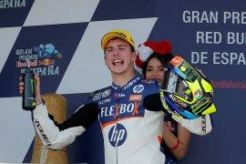 Baldassarri juara Jerez, Dimas dinyatakan fit usai kecelakaan