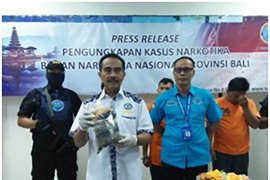Tiga pengedar narkoba jaringan Surabaya-Bali ditangkap