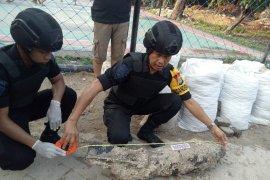 Mortir 60 kilogram sisa perang ditemukan di Kepulauan Seribu