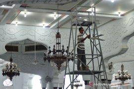 Masjid Raya jelang shalat Tarawih