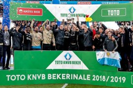 Ajax berhasil juarai Piala Belanda usai gilas Willem II 4-0