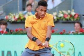 Auger-Aliassime tantang Nadal pada putaran kedua Madrid Open