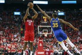Harden pimpin Rockets samakan kedudukan 2-2 lawan Warriors