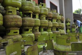 Polisi usut sindikat penjualan tabung gas elpiji bersubsidi