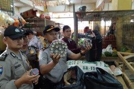 Polisi amankan ribuan petasan berbagai jenis dari gudang penyimpanan di Sukabumi
