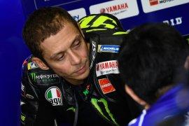 Valentino Rossi belum menemukan jawaban saat tes MotoGP Jerez