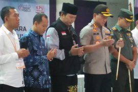 Rapat pleno KPU Tangerang lambat karena dua kecamatan belum rampung