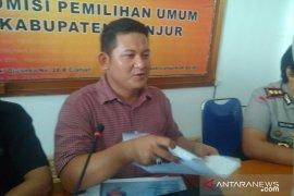 Tertunda sepekan, KPU Cianjur bacakan hasil perolehan suara