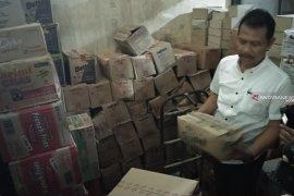 Gudang penyimpanan produk pangan di Tulungagung tidak higienis