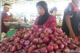 Harga sejumlah sayur mayur di Jambi masih naik