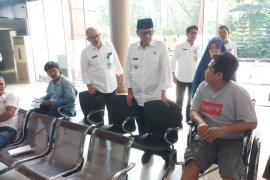 Gubernur Banten sidak RSUD pastikan pelayanan lancar