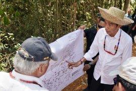 Presiden sebut luas lahan Gunung Mas Kalteng paling siap