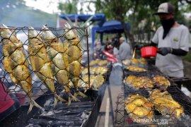 Ikan bakar menu berbuka
