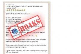HOAKS - Beredar di medsos petugas KPPS meninggal karena asap rokok khusus