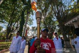 Obor Paskah Nasional tiba di Palu Page 1 Small