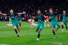 Semangat juang tinggi, kunci kemenangan Tottenham atas Ajax