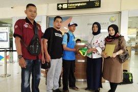 Dinsos Aceh pulangkan seorang warga terlantar asal Garut, Jawa Barat