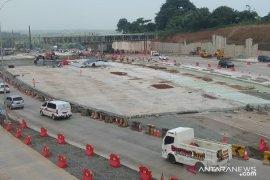 Pembangunan gerbang tol pengganti Cikarang Utama capai 70 persen