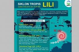 BMKG: Waspadai cuaca ekstrem dampak Siklon Lili