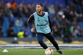 Rashford: Hazard akan bawa Chelsea raih trofi Liga Europa
