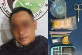 Polres Tanjungbalai tangkap oknum ASN dan nelayan pemilik narkotika