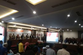 KPU Jambi menetapkan empat calon DPD RI terpilih