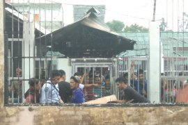 Sebanyak 15 tahanan kabur Rutan Siak masih diburu
