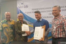Bank BJB-PT Asuransi Jiwa Taspenjalin kerja sama