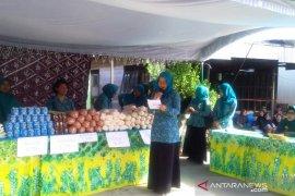 Pasar murah ramadhan  di Alalak-Mandastana laris terjual