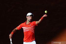 Djokovic hadapi Tsistipas di final Madrid Open