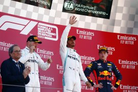 Hamilton dan Bottas bawa Mercedes finis 1-2 F1 GP Spanyol