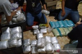 BNN amankan 200 kilogram sabu dari Malaysia