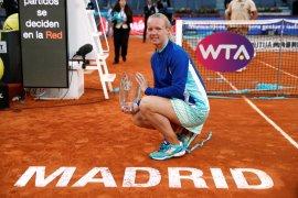 Menang mudah atas Halep, Bertens juarai Madrid Open
