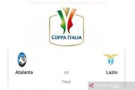 Jelang final Piala Italia Atalanta dan Lazio dapat dorongan moral