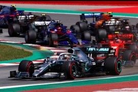 Juarai GP Spanyol, Lewis Hamilton kembali ke puncak