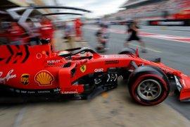 Vettel tabrak dinding pada sesi latihan ketiga GP Monaco